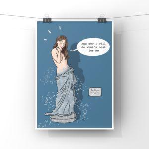 Poster PDF statue libérée